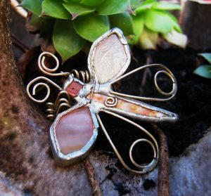 Leptir broš – boja kajsije