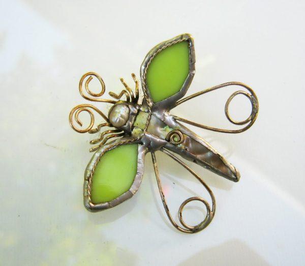staklene iskre leptir