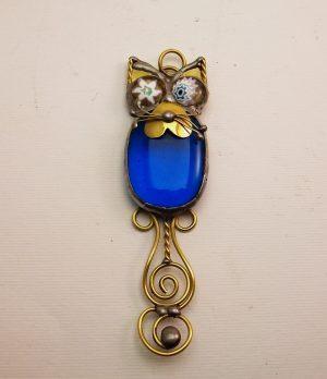 Mačka ogrlica tirkiz