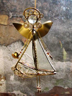 Anđeo-ukras za prozor- providna