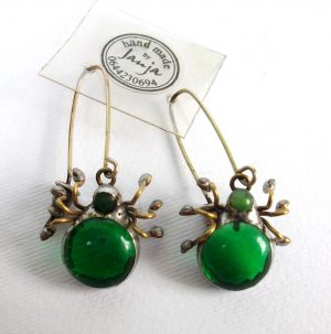 Buba pauk zelena- minđuše