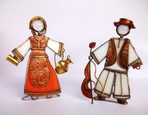 Figura u nošnji-Lala i Sosa