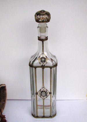 Flaša za rakiju siva