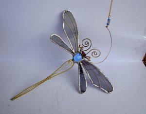 Vilin konjic -suncatcher plavoljubičasta