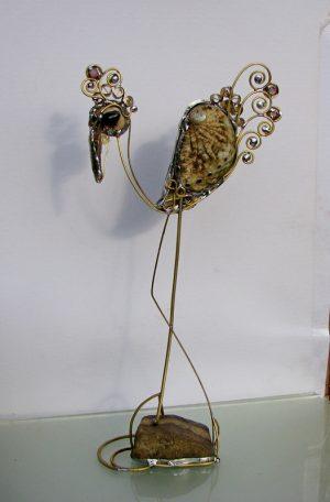 Barska ptica skulptura 1