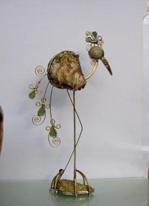 Barska ptica skulptura 2