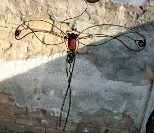 Tiski cvet-suncatcher-patlidžan ljubičasta