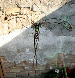 Tiski cvet-suncatcher-zelena