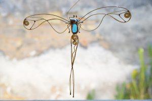Tiski cvet-suncatcher-tirkiz