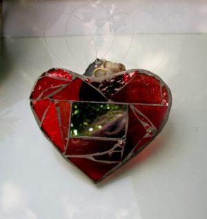 Licidersko srce-crvena