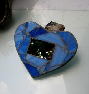 Licidersko srce- svetloplava