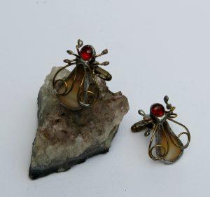 Dugmad za manžetne – pčela 1