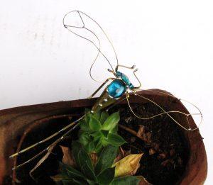 Tiski cvet veći-tirkiz